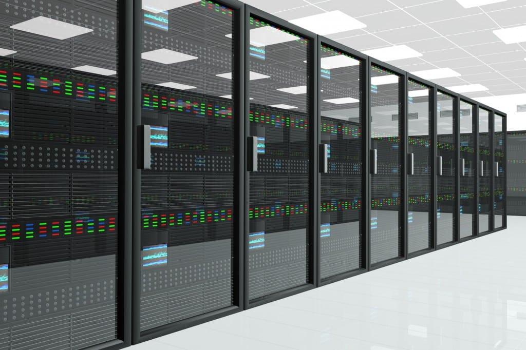 Tủ rack đặt tại Datacenter